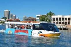 Aquaduck on the water