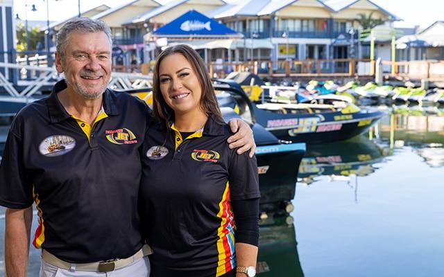 Paradise-Jet-Boating-Staff-Tony-&-Callie